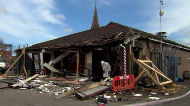 Belfast Arson Attack