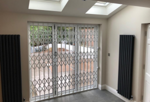 Retractable Grille Patio Doors
