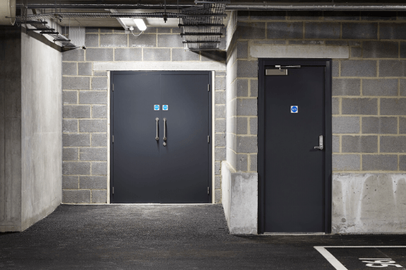 Steel Emergency Exit Doors