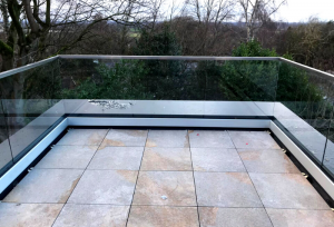 Laminated Glass Balcony