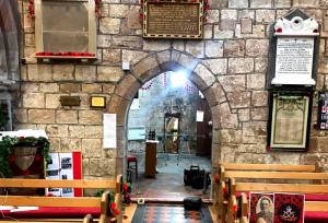 Laminated Glass Doors in Church