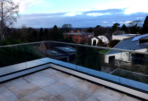 Laminated Glass Terrace