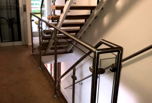 Laminated Glass Stairs